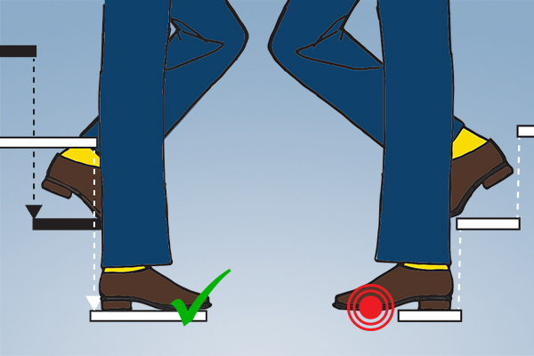 alternating tread stair vs ship stair