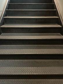 diamond plate stair