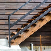 Integrated handrail