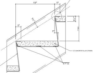 metal pan stair tread