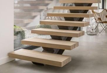 wood stair tread example