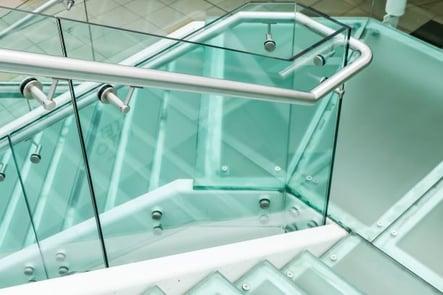 glass railing design example