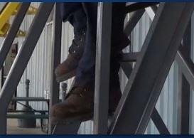 tread depth - foot overhang