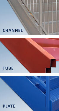 Types of double stair stringers