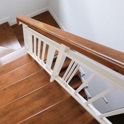 Wood railing and handrails