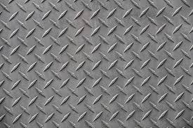 Diamond plate stair tread example